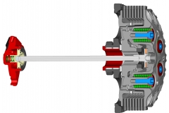Clutch Cad-2 stroke