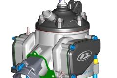 Cylinder Cad-2 stroke